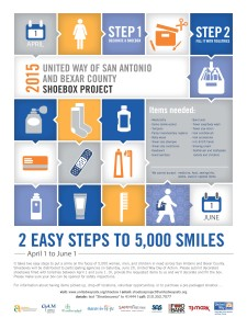 Service Opportunity - Shoebox Project @ San Antonio Food Bank | San Antonio | Texas | United States