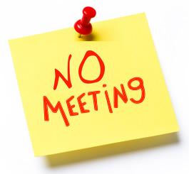 No Meeting - Spring Break