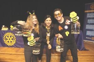 The Bee Team - Amanda Kelly, Carla Riedl, Gavin Rogers
